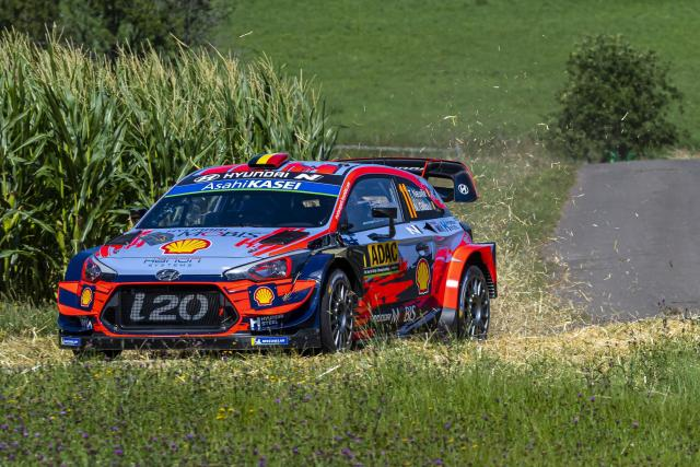 Rallye – WRC – ALL – Rallye d'Allemagne: Thierry Neuville prend les commandes
