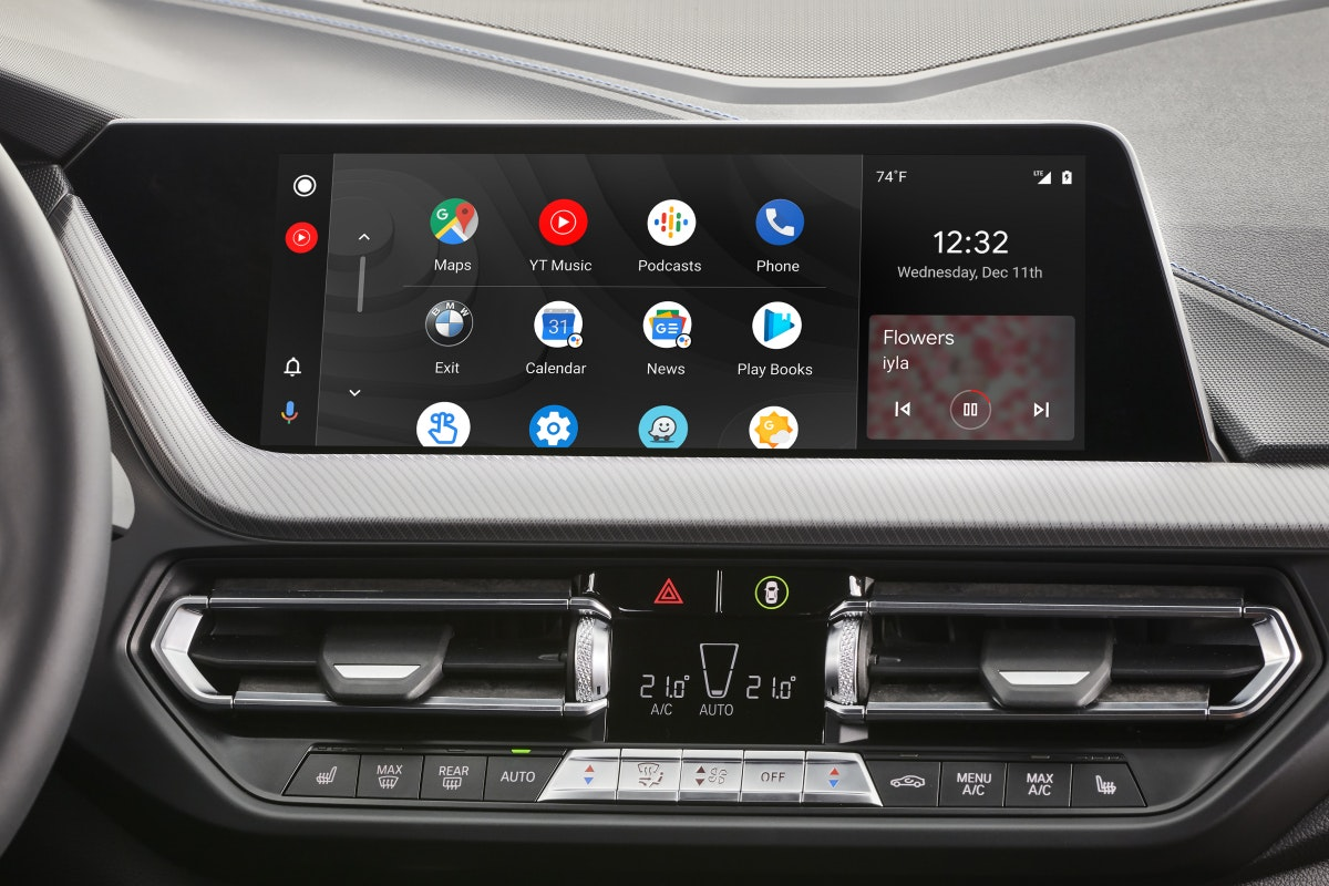 Android Auto is in juli 2020 in BMW verfügba