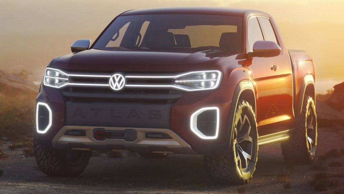 De hoop dat VW een Atlas Tanoak-pick-up bouwt is 'Pretty Much Dead'