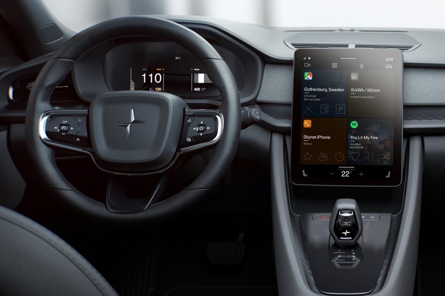 Android Auto: Googles neues Betriebssystem Android Automotive im E-Auto Polestar Precept (Galerie & Video)