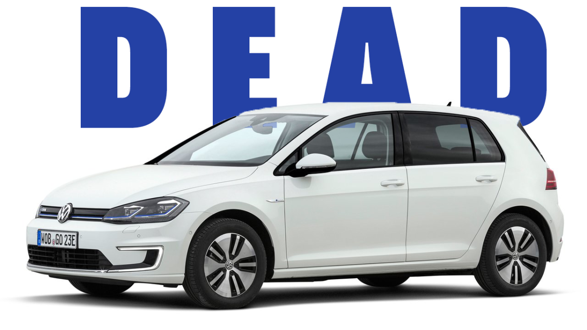 Dood: 2020 VW e-Golf