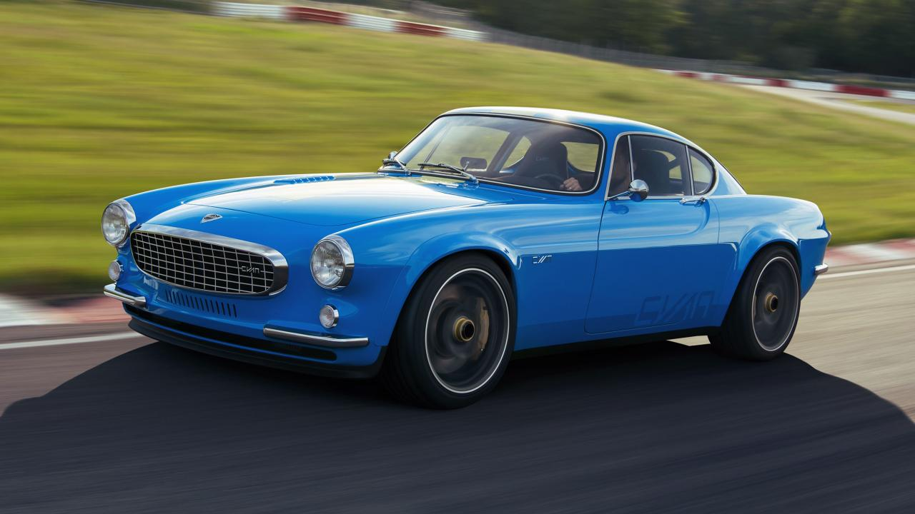 Stop de pers: dit is een Volvo P1800 restomod met 414 pk – Top Gea